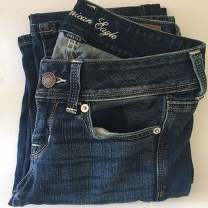 American Eagle   Women's jeans size 0 shirt